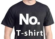 no-tshirt